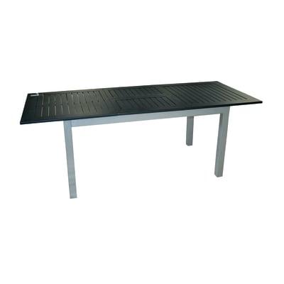 Tavolo da giardino allungabile  rettangolare Ravello con piano in alluminio L 150 x P 90 cm