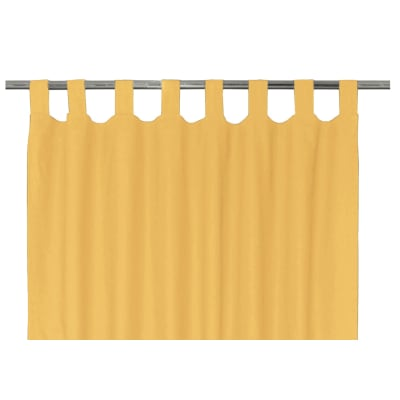 Tenda INSPIRE Elema giallo passanti 140 x 280 cm