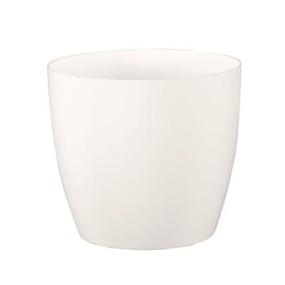 Vaso Sanremo ARTEVASI in polipropilene colore bianco H 27.3 cm, Ø 30 cm
