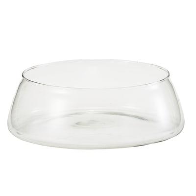 Vaso in vetro Acanto H 9 cm Ø 27 cm