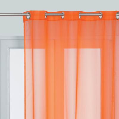 Tenda Essential arancione occhielli 140x280 cm