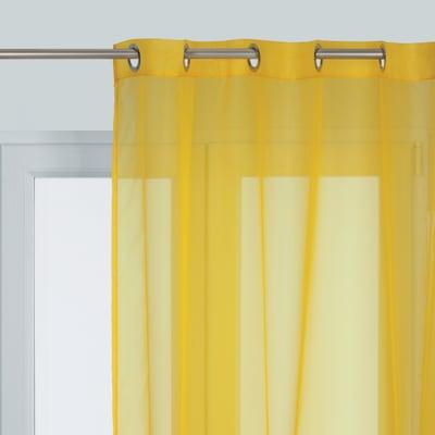 Tenda Essential giallo occhielli 140 x 280 cm