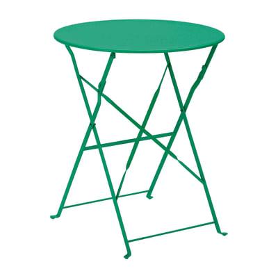 Tavolo Da Giardino Tondo Ferro.Tavolo Da Giardino Rotondo Color Con Piano In Ferro O 60 Cm Prezzi