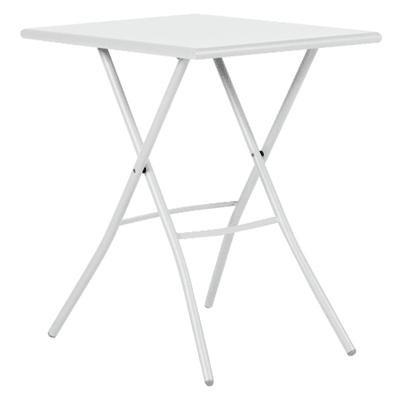 Tavolo da pranzo per giardino rettangolare Gaia in acciaio L 70 x P 50 cm