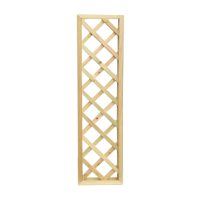 Pannello reticolato in legno Diago 60 x 180 cm