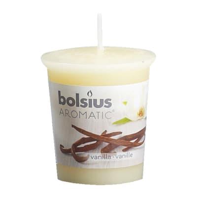 Candela profumata BOLSIUS essenza vaniglia  Ø 4.5 cm H 5.4 cm
