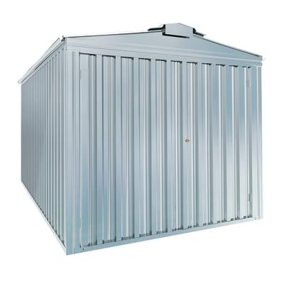 Garage in acciaio al carbonio Boston 17.36 m², Sp 0.4 mm