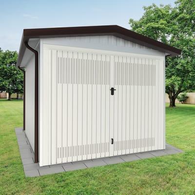 Garage in acciaio al carbonio Chicago SAPIL 12.3 m², Sp 40 mm