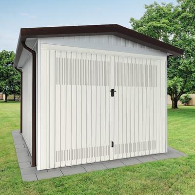 Garage in acciaio al carbonio Newport SAPIL 12.79 m², Sp 40 mm