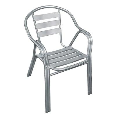 Sedia in alluminio CC 37 colore argento
