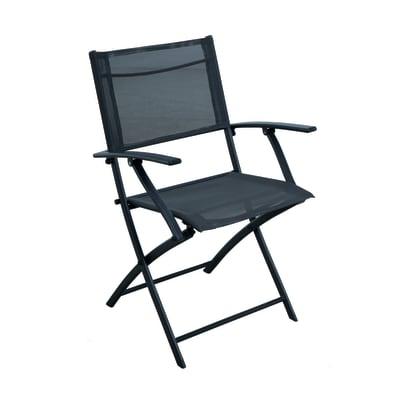 Sedia in acciaio NATERIAL colore grigio