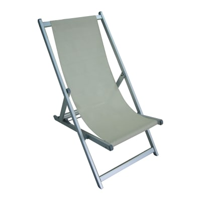 Leroy Merlin Sedie Sdraio.Sdraio In Alluminio Colore Ecru 1 Prezzi E Offerte Online