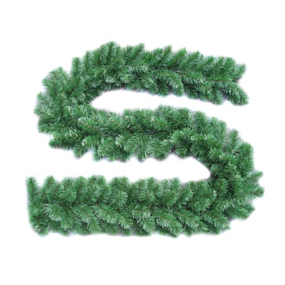 Ghirlanda natalizia Colorado verde L 275 cm , Ø 25 cm