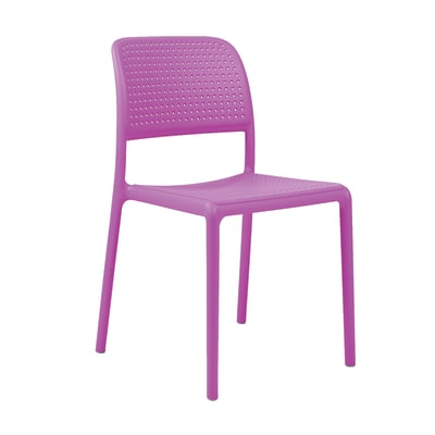Sedia in resina Bora colore viola