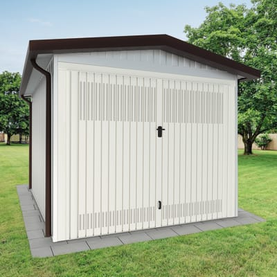 Garage in acciaio al carbonio Newport SAPIL 17.17 m², Sp 40 mm