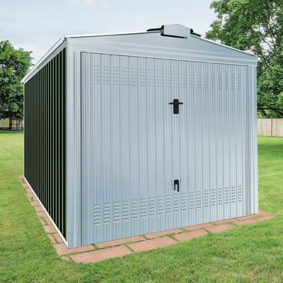 Garage in acciaio al carbonio Orlando SAPIL 14.67 m², Sp 0.6 mm