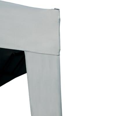 Pergolato e pergola in acciaio Basic bianco 200 cm x 2.35 m x 200 cm
