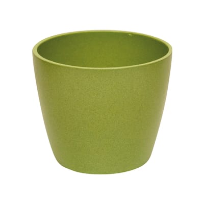 Vaso Spring ALMAS S.A. in ceramica colore verde H 10 cm, Ø 12 cm