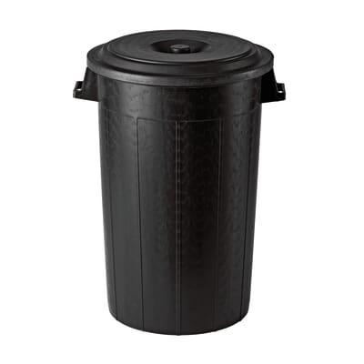 Bidone in plastica STEFANPLAST con coperchio 100 L