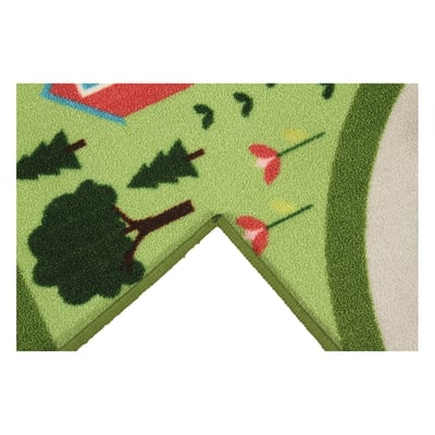 Tappeto antiscivolo Bimba Play Rug multicolor 200x133 cm
