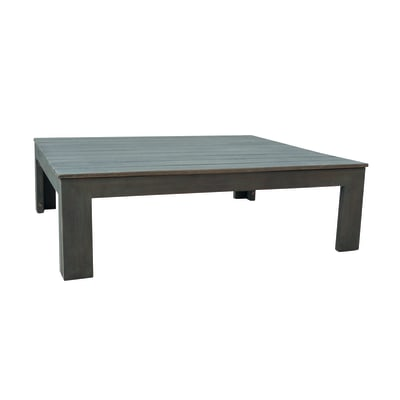 Tavolino da giardino rettangolare Maui in legno L 75 x P 85 cm