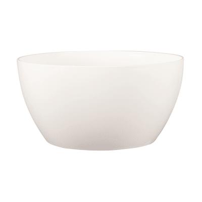Ciotola Algarve ARTEVASI in polipropilene colore bianco H 11.5 cm, Ø 23 cm