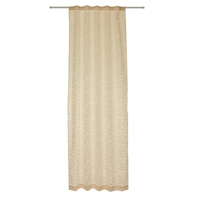 Tenda Horus beige passanti nascosti 140x290 cm