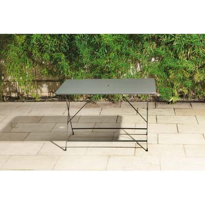 Tavolo da pranzo per giardino rettangolare Cassis L 76 x P 120 cm