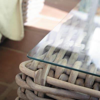 Coffee set in poli-vimini NATERIAL Ayamonte per 5 persone