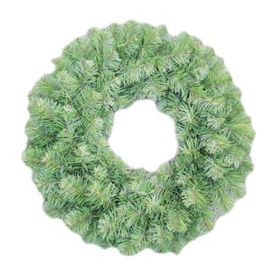 Corona di natale verde Ø 61 cm