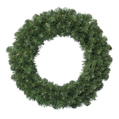 Corona di natale verde Ø 60 cm