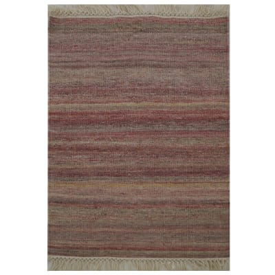 Tappeto Kilim lana , tessuto a mano, rosso, 60x90