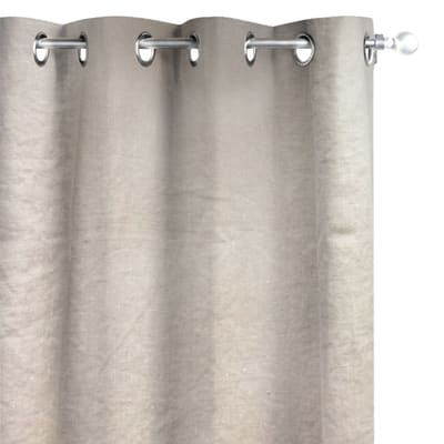 Tenda INSPIRE Lino lavato beige occhielli 140 x 280 cm