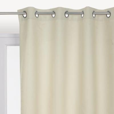 Tenda INSPIRE Newmanchester avorio occhielli 140x280 cm