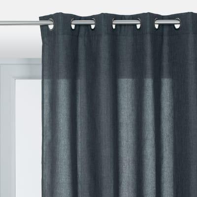 Tenda INSPIRE Looks grigio occhielli 140 x 280 cm