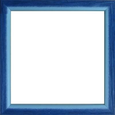 Cornice INSPIRE Bicolor azzurro per foto da 14x14 cm