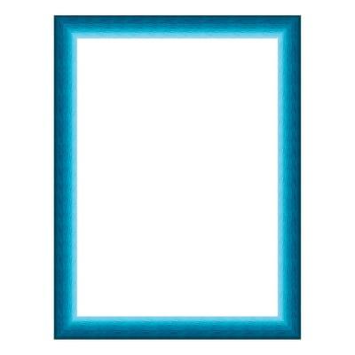 Cornice INSPIRE Bicolor azzurro<multisep/>blu per foto da 35x50 cm