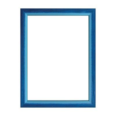 Cornice INSPIRE Bicolor azzurro<multisep/>blu per foto da 29.7x42 cm
