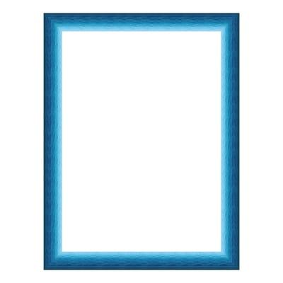 Cornice INSPIRE Bicolor azzurro<multisep/>blu per foto da 21x29.7(A4) cm
