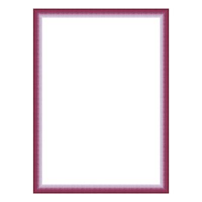 Cornice INSPIRE Bicolor fucsia per foto da 20x25 cm
