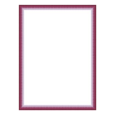 Cornice INSPIRE Bicolor fucsia per foto da 18x24 cm