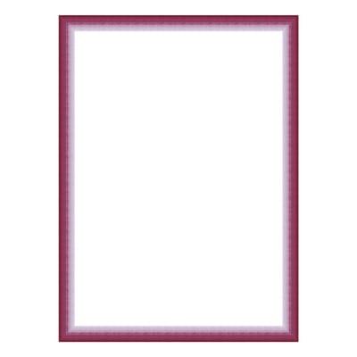 Cornice INSPIRE Bicolor fucsia per foto da 10x15 cm