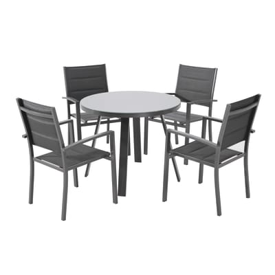Tavolo da pranzo per giardino rotondo Lisboa NATERIAL in ...