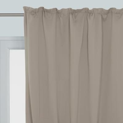 Tenda Oscurante marrone fettuccia 140 x 350 cm