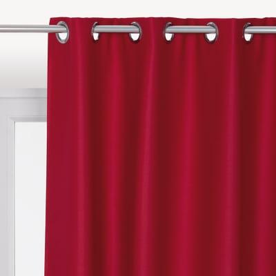 Tenda INSPIRE Oscurante rosso anelli 140x280 cm