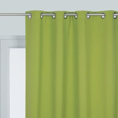 Tenda INSPIRE Oscurante verde occhielli 140x280 cm