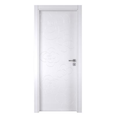 Porta a battente Flower White bianco L 60 x H 210 cm sinistra