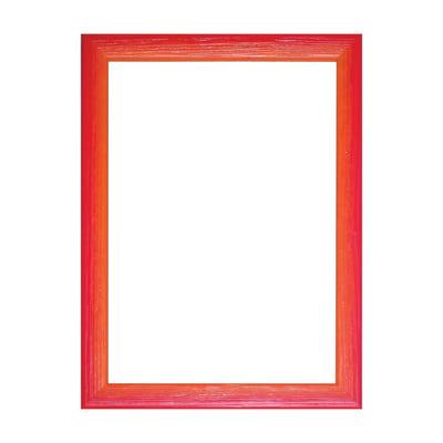 Cornice INSPIRE Bicolor rosso / arancione per foto da 10x15 cm
