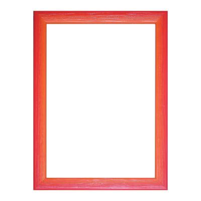 Cornice INSPIRE Bicolor rosso / arancione per foto da 21x29.7 (A4) cm