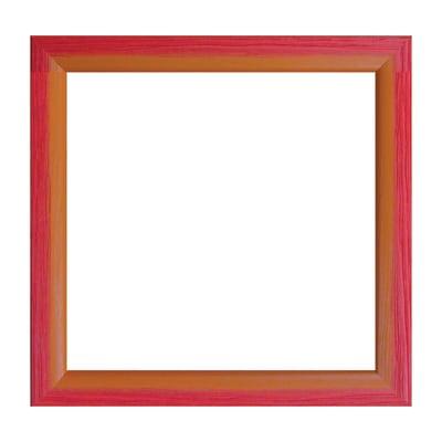 Cornice INSPIRE Bicolor rosso / arancione per foto da 20x20 cm